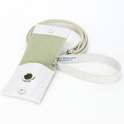 dog leashes printed white cocco